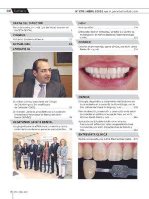 Gaceta Dental Nº 279