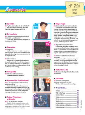 Revista Entre Estudiantes Nº 207