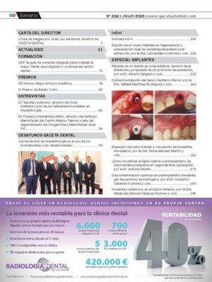 Gaceta Dental Nº 282