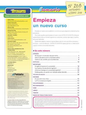 Revista Entre Estudiantes Nº 208