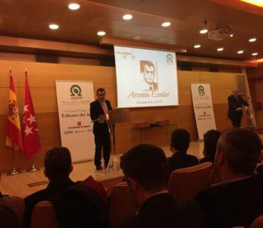 Arsenio Escolar, presidente de la AEEPP y del jurado de los premios
