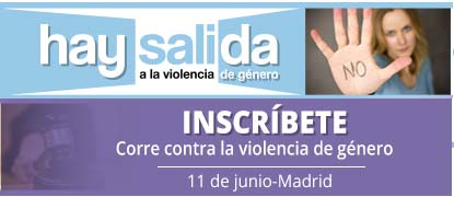 Carrera hay salida, contra la violencia de género.