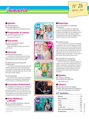 Revista Entre Estudiantes Nº 211