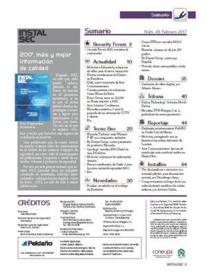 Revista Instalsec Nº 45