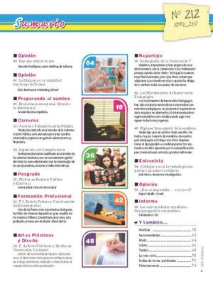 Revista Entre Estudiantes Nº 212