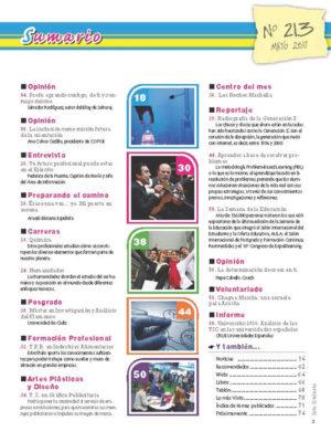 Revista Entre Estudiantes Nº 213