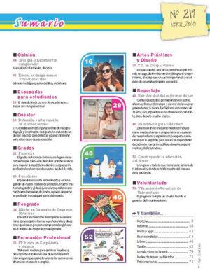 Revista Entre Estudiantes Nº 219